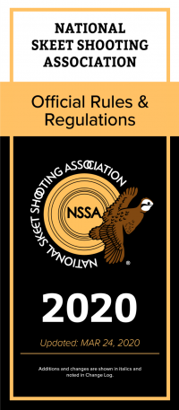 Rules Cover NSSA
