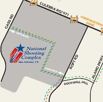 Alternate Routes to NSC to Avoid Construction Traffic