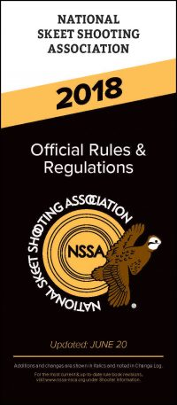 2018 NSSA Rule Book Cover