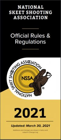 2021 NSSA Rule Book